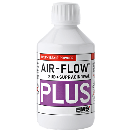 EMS Air-Flow Plus Sub+ Supragingival Prophylaxis Powder, 120g x 4 bottles