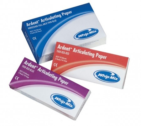 Ardent Articulating Paper Thin Red/Blue,144 Strips/box