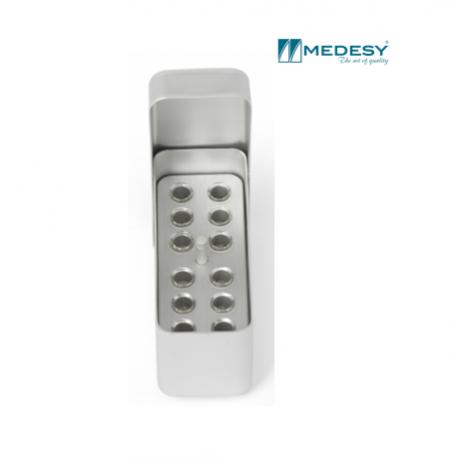 Medesy Endodontic Box Aluminium Small #993