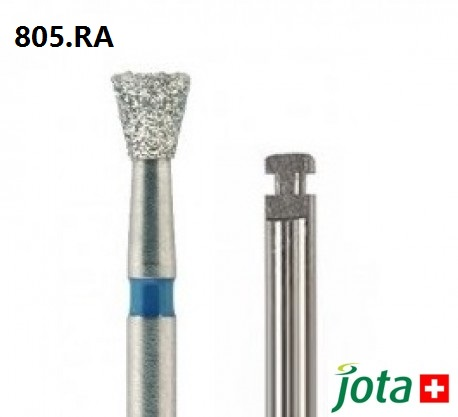 Inverted Cone Diamond Bur, RA, 5pcs/pack (805.RA)