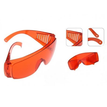 Eye Wear UV protective Orange (Goggles)