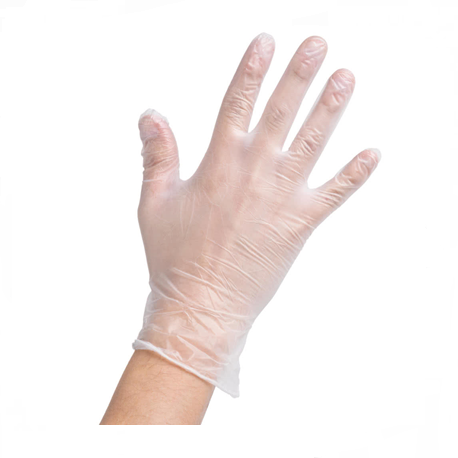 Vinyle Synthetic Examination Gloves Powder- Free