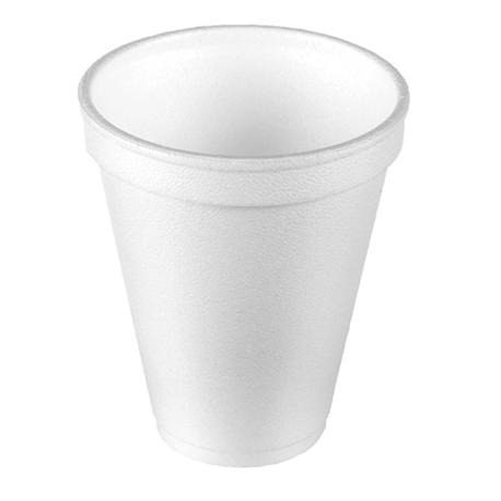 Comfort Plus Foam Cups-White, 8 Oz (50pcs/pkt, 20pkt/carton)