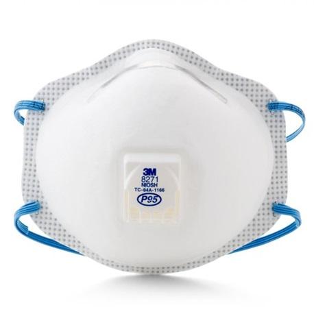 3M™ Particulate Respirator Mask 8271, P95 10pcs/Box