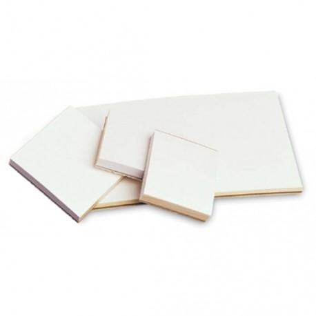 Mixing Pad Poly-Coated, 3x3  (50 pcs/book)