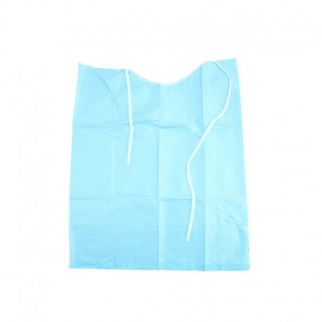 Blue Dental Patient Bibs (500 pcs/pack)