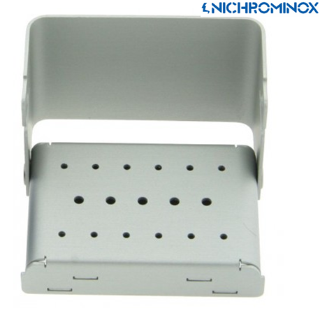 Nichrominox Aluminium 17 holes Color Bur Block/holder