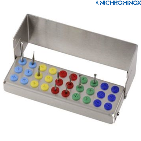 Nichrominox Plug' in Bur holder for high speed and low speed burs