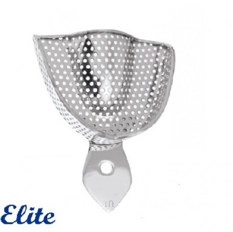 Elite Impression Tray Upper, Perforated, Edentulous