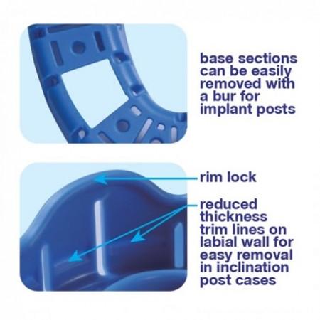 Premium Plus Disposable Impression Trays (10/pack)
