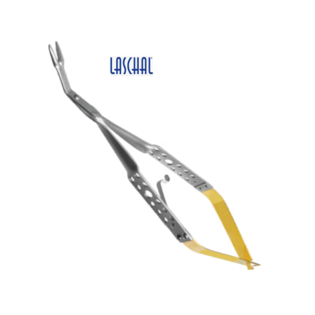Laschal 45' N/S Forceps for posts, points and pedodontic crowns w/ lock