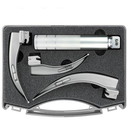 KaWe Conventional Laryngoscope Set (1 handle + 3 blades Macintosh C)