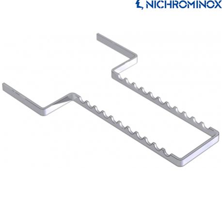 Nichrominox Stainless steel Instrument holder for 11 Instruments