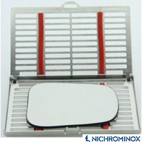 Nichrominox Solo Cassette/Tray for Dental Photography Mirrors