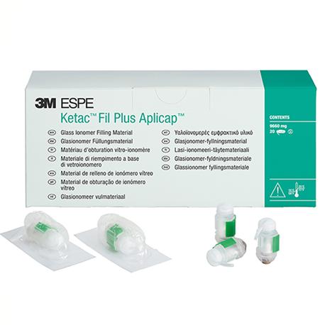 3M Ketac Fil Plus Aplicap GlC Filling Material 50 capsules/Box