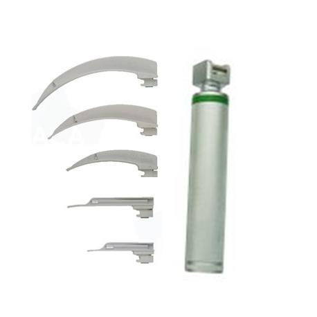 Fiber Optic Disposable Laryngoscope Set