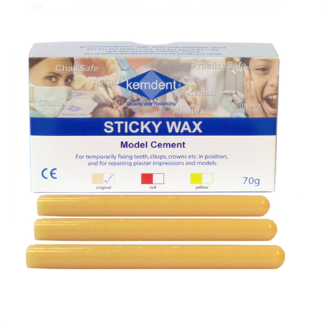 Kemdent Sticky Wax Original 70g