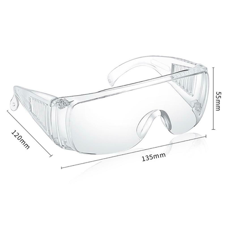 Eye Wear UV protective Clear (Goggles)