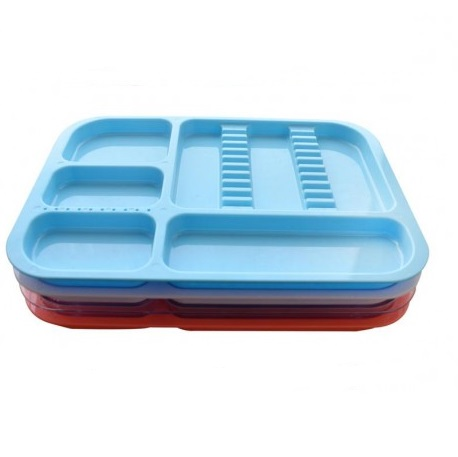 Cabinet tray, autoclavable, Blue 1pc/pack