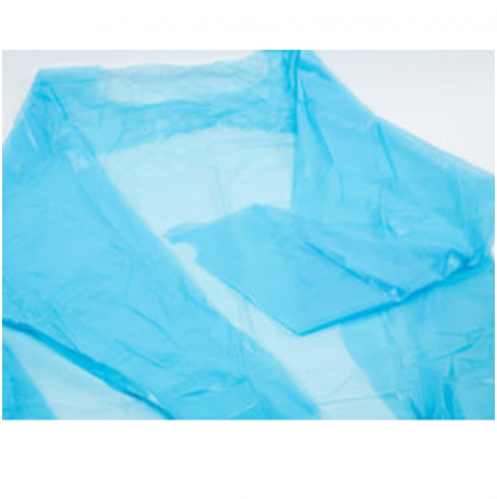 CPE Gown with Cuff & Thumb Holder, Blue (20pcs/case)