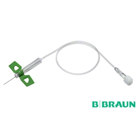 B Braun Safety wing infusion butterfly needle set, 50pcs/box