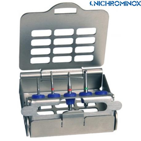 Nichrominox 5-holes ultralight Bur holder