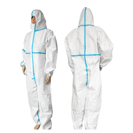 Medical Grade Protective Disposable Full Body Coverall For Hospital Use,Per Piece