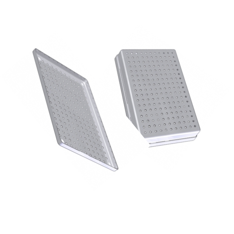 Nichrominox Perforated Stainless steel Instrument tray