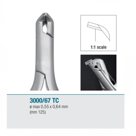 Medesy Distal End Cutter TC 3000/67TC