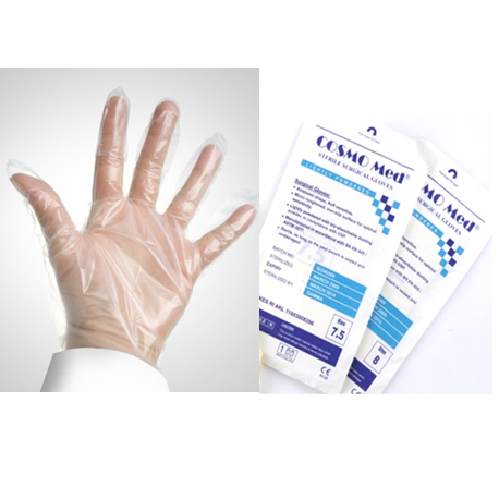 Sterile Co-polymer Gloves (100pcs/Box)