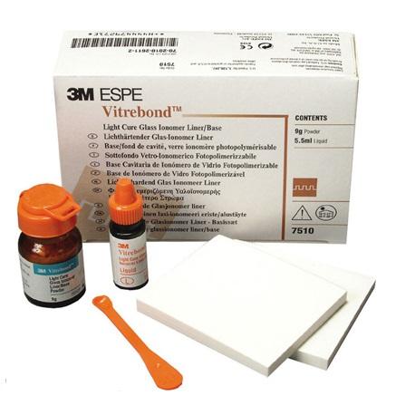 3M Vitrebond™ Light Cure Glass Ionomer Liner/Base # 7510