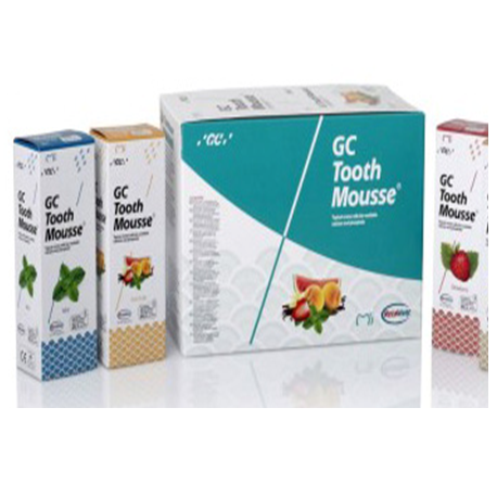 GC Tooth Mousse Topical Creme, 10 x 40g tube