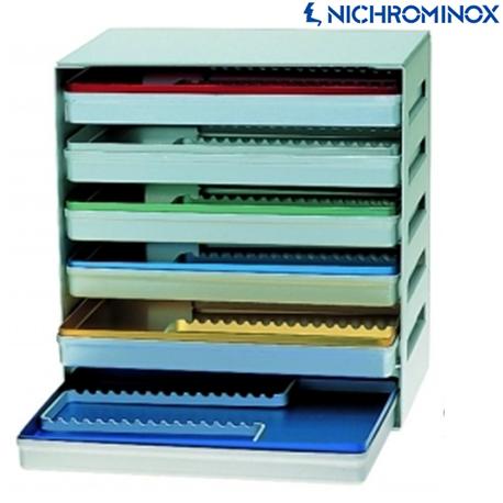 Nichrominox Aluminium Tray Rack or Dispenser Empty