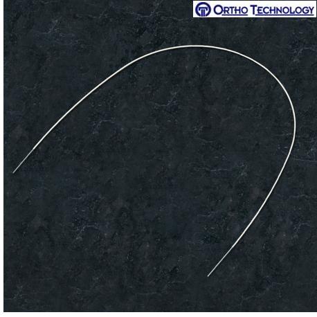 Ortho Tchnology Tooth Tone Coated Nickel Titanium Full Form Archwire Rectangle