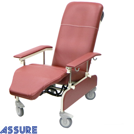 Assure Rehab 3 Position Geriatric Chair with Drop Down Armrest