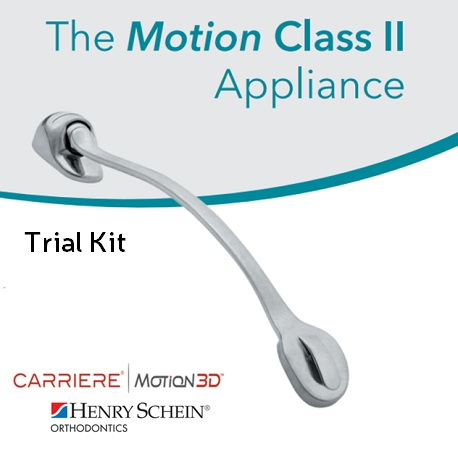 Carriere Motion Class II Orthodontic Appliances - Trial Kit
