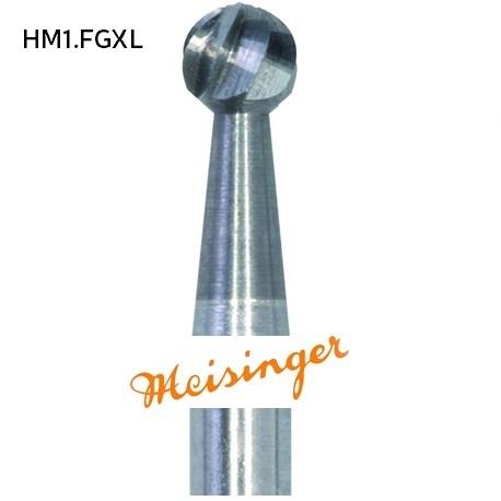 Meisinger Tungsten Carbide bur HM1.FGXL (5pcs/pack)