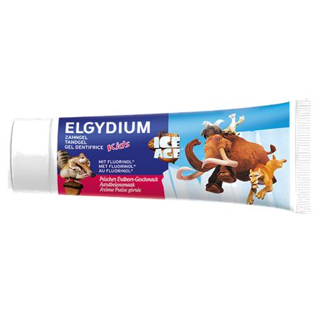 Elgydium Ice Age Kids Toothpaste Fresh Strawberry 50ml ( X8 Packs )