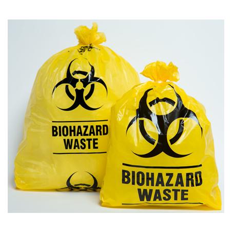 Biohazard Bag, Yellow