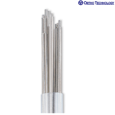 Ortho Technology Stainless Steel Straight Lengths Round