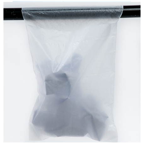 Limpet bag with adhesive, White, 23 x 30cm Pack/100s