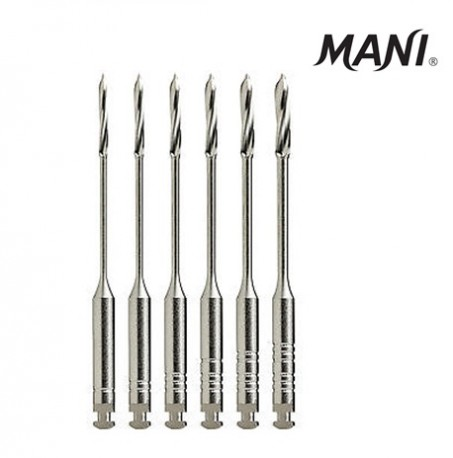 Mani Peeso Reamers, Assorted Sizes, 28 mm