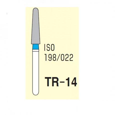 Mani Diamond Bur (TR-14), 5pcs/pack