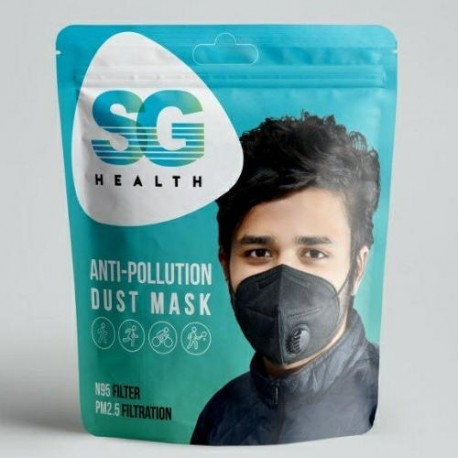 SG Health KN95 Anti-pollution mask with filter 1pc/pack