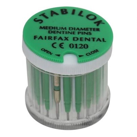 Stabilok Pin Green, Titanium. Size .027'' (20pcs/box)