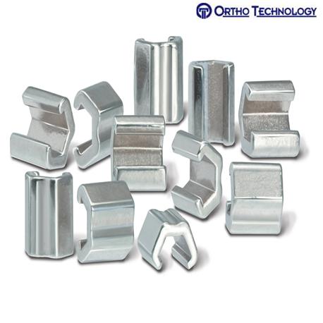 Ortho Technology Crimpable Split Stop 10 per pack REV-1 #020-100
