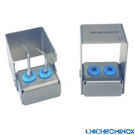 Nichrominox Multi Clip holder with 2-holes