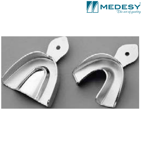 Medesy Impression-Tray Anatomic With Retention Rim in various Size -6005