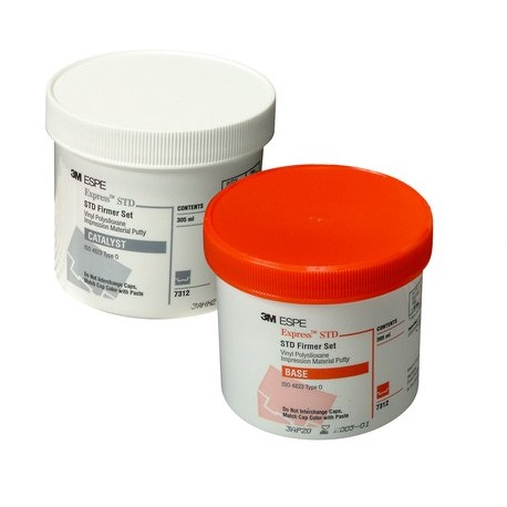 3M Express™ VPS Impression Material Standard Putty  2 X 610ML #7312