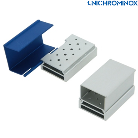 Nichrominox Aluminium 14 holes Smart Block/Holder